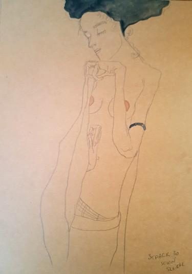 Étude Schiele 2 #artistsupportpledge
