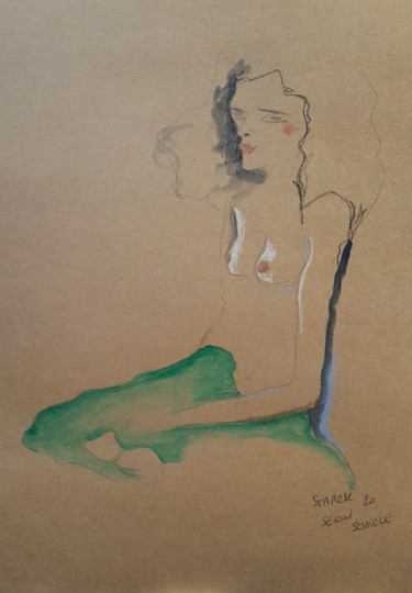 Étude Schiele 4 #artistsupportpledge