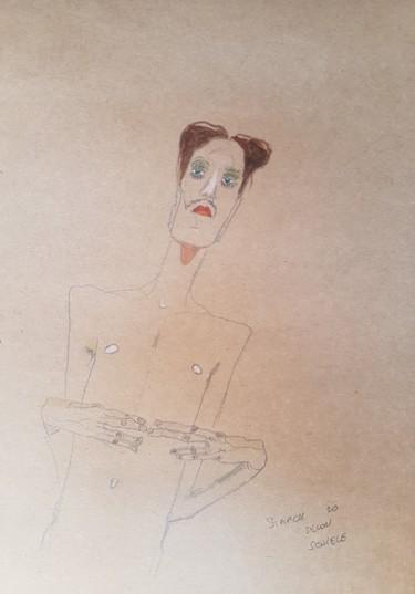 Étude Schiele 7 #artistsupportpledge