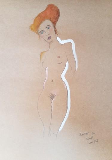 Étude Schiele 6 #artistsupportpledge